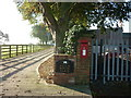 TA1634 : The sign for Fieldhouse Farm, Thirtley by Ian S