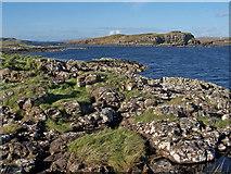 NG3235 : Towards Ullinish Point from Oronsay by Richard Dorrell