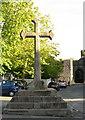 ST1578 : Celtic Cross at Llandaff - 2010 by M J Richardson