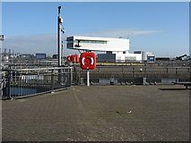 ST1972 : Cardiff Bay Barrage by M J Richardson