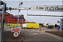TQ2575 : Wandsworth Waste Transfer Station by N Chadwick