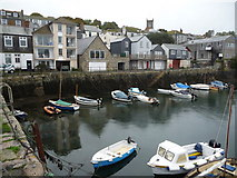 SW8132 : Quayside apartments and buildings, King Charles' Quay, Falmouth by Jeremy Bolwell