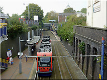 SO9596 : Midlands Metro at Bilston, Wolverhampton by Roger  Kidd