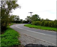 SK5815 : Slash Lane/Mountsorrel Lane/Sileby Road junction by Andrew Tatlow
