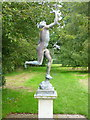 TR3750 : Statue of Mercury in the paddock at Walmer Castle by pam fray