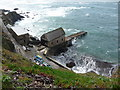 SW7011 : The old disused Lizard Lifeboat station, Polpeor Cove by Jeremy Bolwell