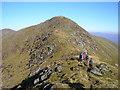 NN0931 : On the Bealach of Sròn an Isean by Iain Lees