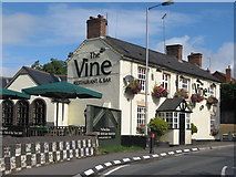 SO8483 : 5385 The Vine at Kinver by the Staffs and Worcs Canal by Richard Rogerson