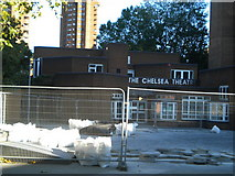 TQ2677 : The Chelsea Theatre, Kings Road SW10 by Robin Sones