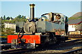 SH5738 : Lyd at Porthmadog Harbour Station by Peter Trimming