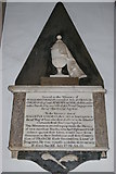 ST0207 : Cullompton Church: monument by Christopher Hilton