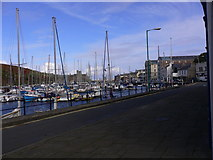 SC2484 : Peel Harbour from East Quay by Shazz