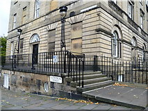 NT2473 : Corner of Charlotte Square and Glenfinlas Street by kim traynor