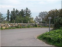 SH2428 : Access road to Treheli and Sarn-y-plas by Eric Jones