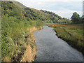 SH5456 : Afon Gwyrfai looking upstream by John Firth