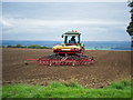 TA0214 : Seed Drilling on Elsham Hill by David Wright