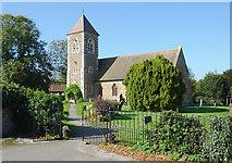 SO8090 : Holy Cross Church at Bobbington, Staffordshire by Roger  Kidd