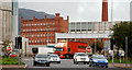 J3475 : M2 slip-road Belfast by Albert Bridge