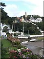 SH5837 : Portmeirion, from the south by Robert Rimell