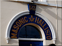 J4569 : Masonic hall, Comber (2) by Albert Bridge
