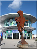 SK5319 : The Signaler, Rushes Retail Park, Loughborough by Richard Rogerson