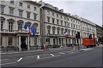 TQ2679 : London : Kensington - French General Consulate by Lewis Clarke