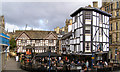 SJ8398 : Shambles Square, Old Wellington Inn & Sinclair's Oyster Bar by David Dixon