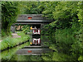 SP0578 : Parson's Hill Bridge near Kings Norton, Birmingham by Roger  Kidd