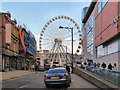 SJ8398 : Cateaton Street & Manchester Wheel by David Dixon