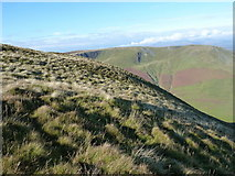SH8115 : The top of the steep northern side of Maesglase by Richard Law