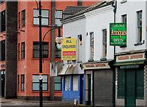 "J3473 : Former ""Ivy Bar"", Belfast by Albert Bridge"