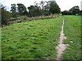 SJ4162 : Footpath beside River Dee near Eccleston by Chris Wimbush