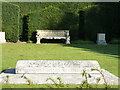 TQ1352 : Mrs. Greville's grave, Polesden Lacey by pam fray