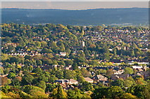 TQ2550 : Reigate from Colley Hill by Ian Capper