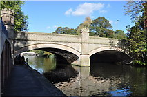 SK5803 : Ornate Bridge over the Grand Union Canal by Ashley Dace