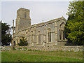 TL9568 : Stowlangtoft St George's church by Adrian S Pye