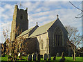 TM2374 : Stradbroke All Saints church by Adrian S Pye