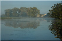 SO8843 : Croome Court and Croome River by Philip Halling