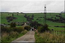 SD7130 : Cut Lane approaching Cut Farm by Bill Boaden
