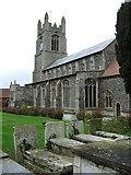 TM0890 : St Martin New Buckenham by Keith Evans