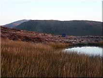 SH8514 : Wild camp, Llyn Foeldinas by Richard Law