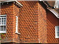 TQ4215 : Tile hanging detail by Oast House Archive