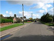 TG3311 : Mill Road, Blofield Heath by Evelyn Simak