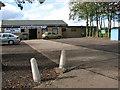 TG3211 : Heathlands Social Club, Blofield Heath by Evelyn Simak
