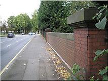 SP0683 : Pershore Road crosses the Bourn Brook by Robin Stott