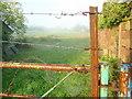SO8522 : Misty field entrance by Jonathan Billinger