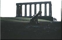 NT2674 : Edinburgh's 'demi-Parthenon', Calton Hill by Stanley Howe
