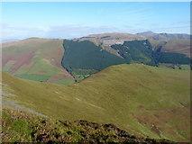 SH8215 : Moel Cwm yr Eglwys from Maen Du by Richard Law