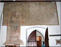 TG4802 : All Saints' church in Belton - medieval wall paintings by Evelyn Simak