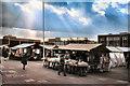 SJ9399 : Ashton-Under-Lyne Market, 1977 by David Dixon